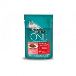 One sterilcat hrana umeda somon pisica 85g image