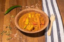 Mild Veggie Curry  image