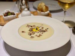 Supa-cremă de conopida cu semințe image