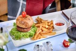 Burger vegetal image