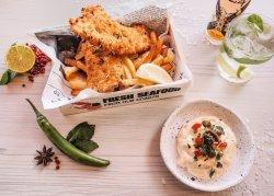 Fish&Chips și sos tartar image