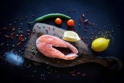 Cotlet de Somon la gratar cartofi natur image