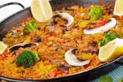 Paella Vegetariana 1 pers image