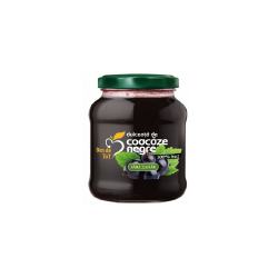 Dulceață naturală din coacăze negre fără zahăr Bun de Tot, 360g, Dacia Plant image