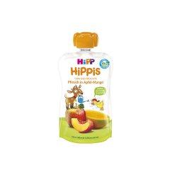 Piure din Măr, Mango și Piersică HiPPiS, +12luni, 100g, Hipp image