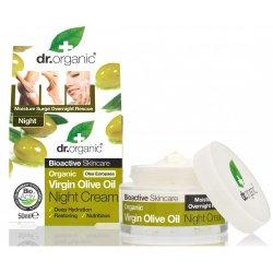 Dr Organic Ulei Masline Crema Noapte 50ml