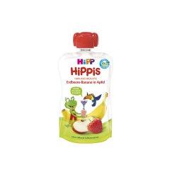 Piure din Mar, Căpșuni și Banana HiPPiS, +12luni, 100g, Hipp image