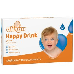 Happy Drink Alinan, 12 plicuri, Fiterman Pharma