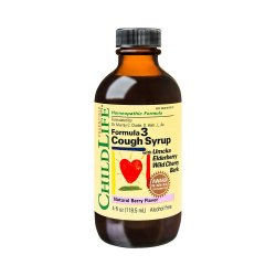 Cough Syrup gust de fructe Childlife Essentials, 118.5 ml, Secom image