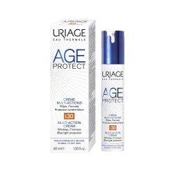 Cremă antiaging Multi-Action cu SPF30 Age Protect, 40 ml, Uriage