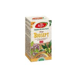 Biosept sirop miere și propolis, A13, 100 ml, Fares