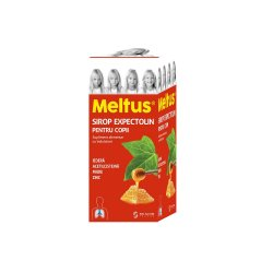 Sirop expectolin pentru copii Meltus, 100 ml, Solacium Pharma image