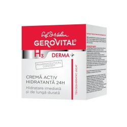 Cremă activ hidratanta Gerovital H3 Derma+, 50 ml, Farmec