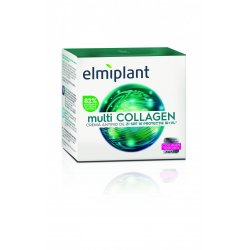 Cremă antirid de zi SPF 10 Multi Collagen, 50 ml, Elmiplant