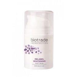 Crema depigmentanta de noapte Melabel Whitening, 50 ml, Biotrad