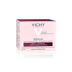 Cremă energizantă cu efect de netezire și iluminare pentru tenul normal mixt Idealia, 50 ml, Vichy