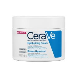 Cremă hidratantă pentru față și corp piele uscată și foarte uscată, 340 gr, CeraVe