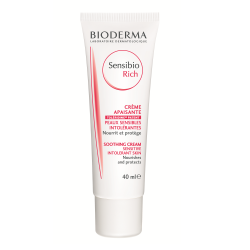 Crema hidratanta pentru piele uscata sau intoleranta Sensibio Rich, 40 ml, Bioderma