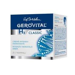 Cremă intensiv hidratanta de zi Gerovital H3 Classic, 50 ml, Farmec