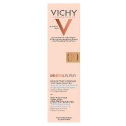 Fond de ten cu acid hialuronic MineralBlend, Nuanța Agate 09, 30 ml, Vichy