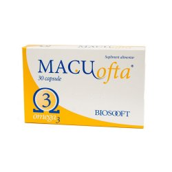 Macuofta, 30 capsule, Biosooft