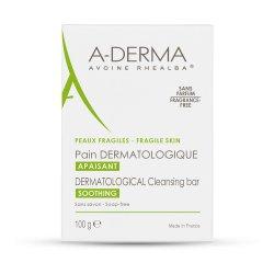 Săpun dermatologic cu lapte de ovăz, 100 g, A-Derma