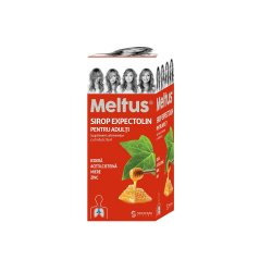 Sirop expectolin pentru adulti Meltus, 100 ml, Solacium Pharma image