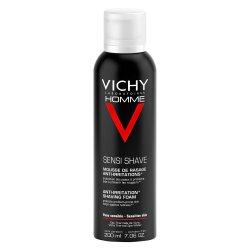 Spumă de ras anti-iritaţii pentru ten sensibil, 200 ml, Vichy