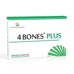 4 Bones Plus, 30 comprimate, sun Wave Pharma