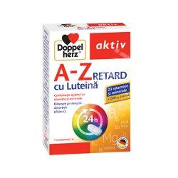 A-Z Retard cu Luteina, 30 comprimate, Doppelherz