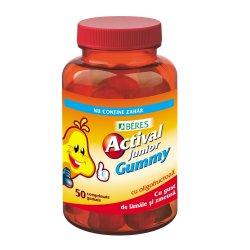 Actival Junior Gummy, 50 comprimate, Beres Pharmaceuticals