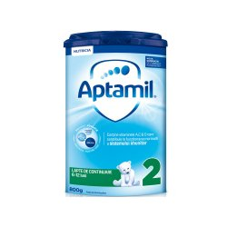 Aptamil 2 cu Pronutra formula de lapte de continuare Premium, 6-12 luni, 800 g, Nutricia