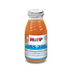 Bautura impotriva diareei cu morcov si orez ORS 200, +4 luni, 200 ml, Hipp