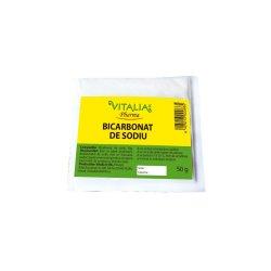 Bicarbonat de sodiu, 50 g, Vitalia