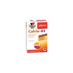 Calciu+D3 pentru oase și mușchi, 30 comprimate, Doppelherz
