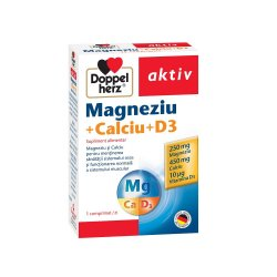 Calciu Magneziu, 30 comprimate, Doppelherz