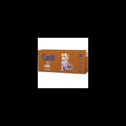 Cavit Junior, multivitamine cu aromă de caise, 20 tablete, Biofarm