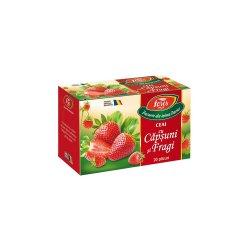 Ceai de Capsuni si Fragi Aromfruct, 20 plicuri, Fares
