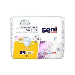 Chilot elastic absorbant Seni Active Normal, Large, 10 bucati,..