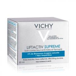 Cremă antirid și fermitate pentru ten normal-mixt Liftactiv Supreme, 50 ml, Vichy