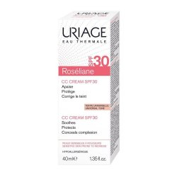 Cremă CC Roseliane SPF30, 40 ml, Uriage