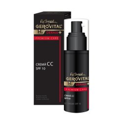 Cremă CC SPF 10 Gerovital H3 Derma+ Premium Care, 30 ml, Farmec