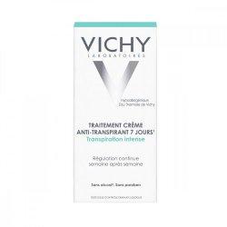 Deodorantcremă tratamentîmpotrivatranspiraţieiabundente cu eficacitate 7 zile, 30 ml, Vichy