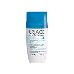 Deodorant roll-on fără săruri de aluminiu, 50 ml, Uriage