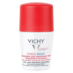 Deodorant roll-on tratament intensiv anti-transpirant stress-resist 72h, 50 ml, Vichy