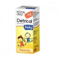 Detrical baby picături orale, 30 ml, Zdrovit