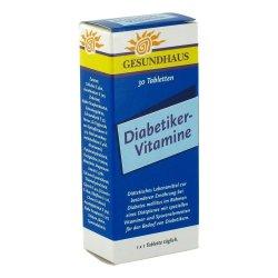 Diabetiker-Vitamine, 30 tablete, Worwag Pharma