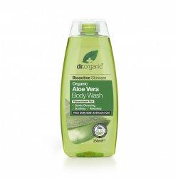 Dr Organic Aloe Vera Gel de dus 250ml