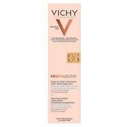 Fond de ten cu acid hialuronic MineralBlend, Nuanța Ocher 06, 30 ml, Vichy
