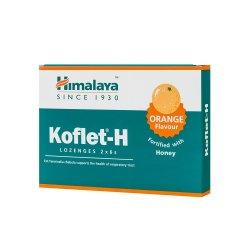 Koflet-H cu aromă de portocale, 12 pastile, Himalaya